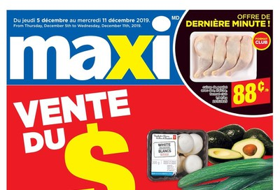 Maxi & Cie Flyer December 5 to 11