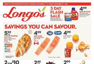 Longo's Flyer December 4 to 10