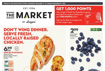 The Market by Longo's Flyer December 4 to 10