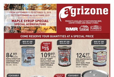 Unimat Agrizone Flyer September 11 to October 16