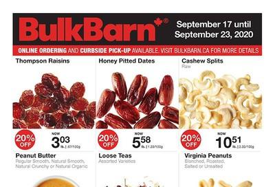 Bulk Barn Flyer September 17 to 23