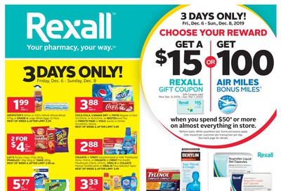 Rexall (ON) Flyer December 6 to 12