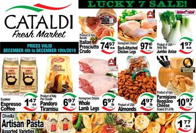 Cataldi Fresh Market Flyer December 4 to 10