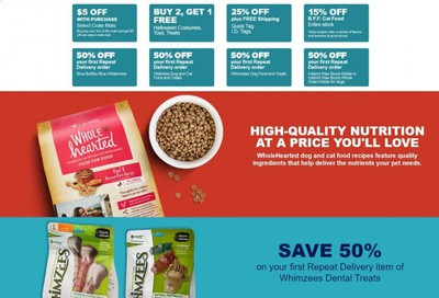 Petco Weekly Ad Flyer September 18 to September 25