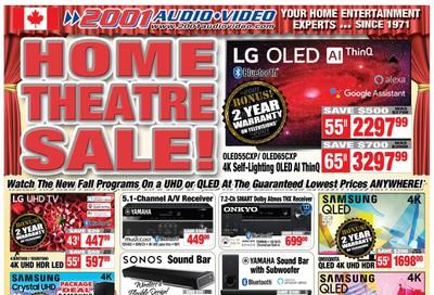 2001 Audio Video Flyer September 18 to 24