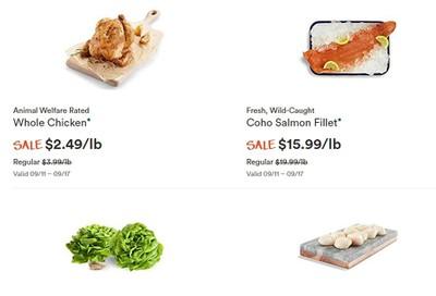 Whole Foods Market (West) Flyer September 11 to 17