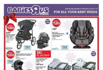 Babies R Us Flyer December 5 to 11