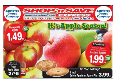 Shop 'n Save (Pittsburgh) (MD, PA, WV) Weekly Ad Flyer September 19 to September 25