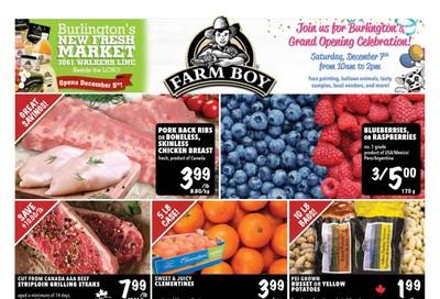 Farm Boy (Burlington and Oakville) Flyer December 5 to 11
