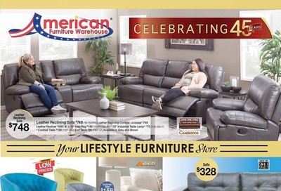 American Furniture Warehouse (AZ) Weekly Ad Flyer September 16 to October 6