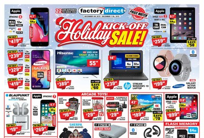 Factory Direct Flyer December 4 to 11