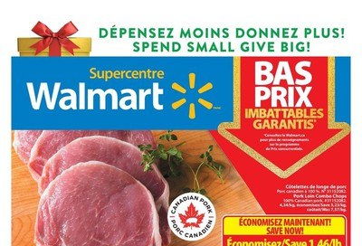 Walmart Supercentre (QC) Flyer December 5 to 11