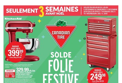 Canadian Tire (QC) Merry Madness Sale Flyer December 5 to 12
