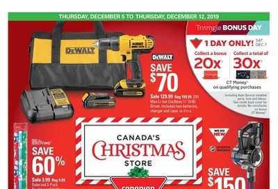 Canadian Tire (West) Flyer December 5 to 12