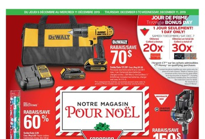 Canadian Tire (QC) Flyer December 5 to 11