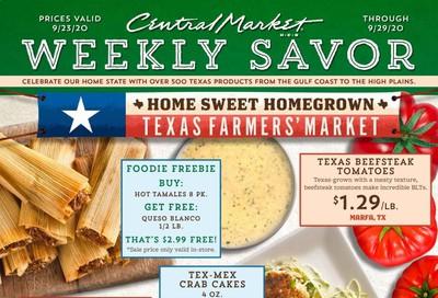 Central Market Weekly Ad Flyer September 23 to September 29