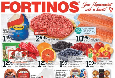 Fortinos Flyer September 24 to 30