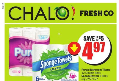 Chalo! FreshCo (West) Flyer December 5 to 11