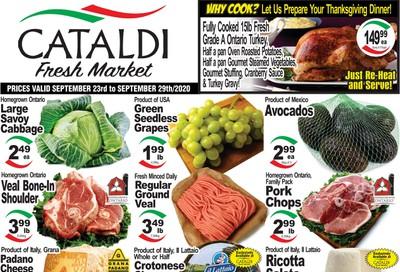 Cataldi Fresh Market Flyer September 23 to 29