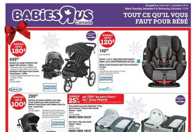 Babies R Us (QC) Flyer December 5 to 11