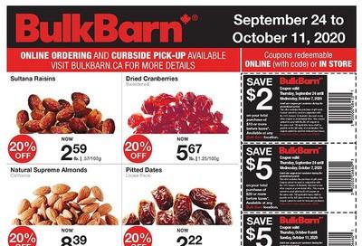 Bulk Barn Flyer September 24 to October 11