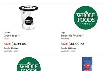 Whole Foods Market (West) Flyer December 4 to 10