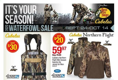 Cabela's Weekly Ad Flyer September 24 to October 14