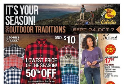 Cabela's Weekly Ad Flyer September 24 to October 7