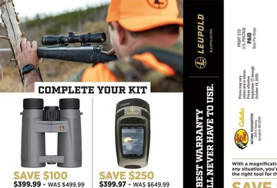 Cabela's Weekly Ad Flyer September 17 to October 14