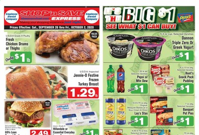 Shop 'n Save (Pittsburgh) (MD, PA, WV) Weekly Ad Flyer September 26 to October 2