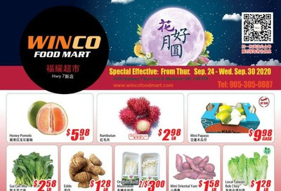 WinCo Food Mart (HWY 7) Flyer September 24 to 30