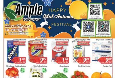 Ample Food Market Flyer September 25 to October 1