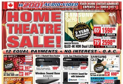2001 Audio Video Flyer September 25 to October 1