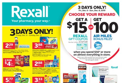 Rexall (West) Flyer December 6 to 12