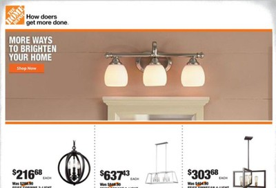 The Home Depot Weekly Ad Flyer September 24 to October 1