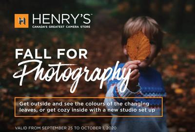 Henry's Flyer September 25 to October 1