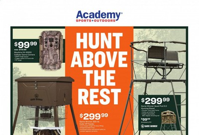 Academy Sports Weekly Ad Flyer September 28 to October 11