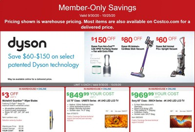 Costco Weekly Ad Flyer September 30 to October 25