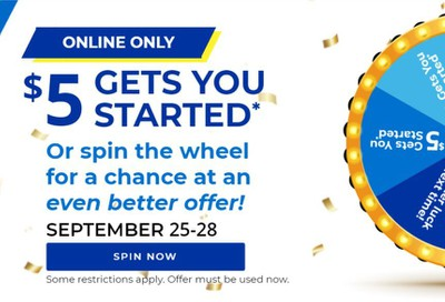 Aaron's Weekly Ad Flyer September 25 to September 28