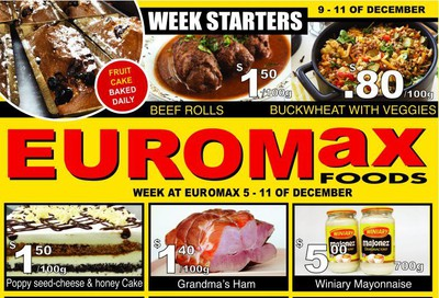 EuroMax Foods Flyer December 5 to 11