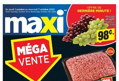 Maxi & Cie Flyer October 1 to 7
