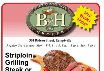 B&H Your Community Grocer Flyer December 6 to 12
