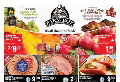 Farm Boy Flyer October 1 to 7