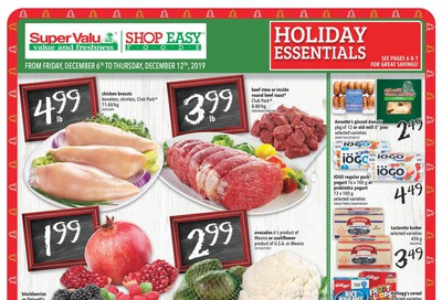 Shop Easy & SuperValu Flyer December 6 to 12