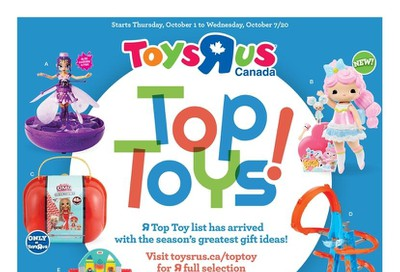 Toys R Us Flyer October 1 to 7