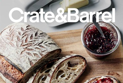 Crate & Barrel Weekly Ad Flyer September 30 to October 7