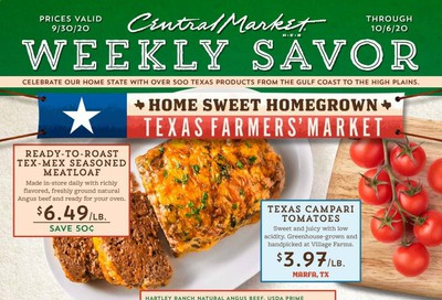 Central Market Weekly Ad Flyer September 30 to October 6