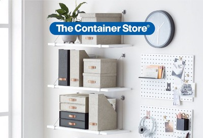 The Container Store Weekly Ad Flyer September 30 to October 7