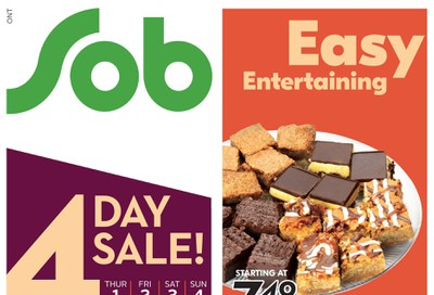Sobeys (ON) Flyer October 1 to 7