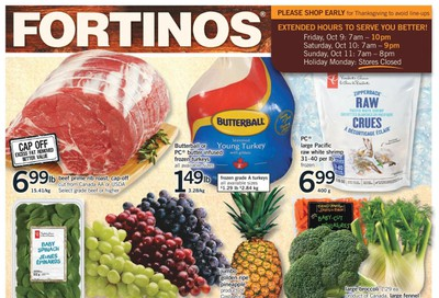 Fortinos Flyer October 1 to 7